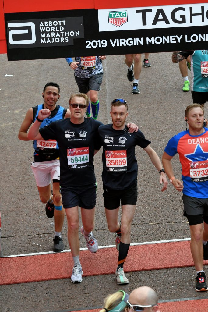 Tom and Warren London Marathon