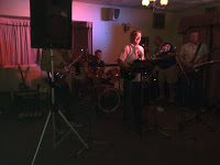 Band rocks at the half moon