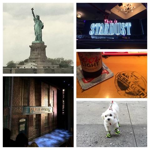 New York & Barbados Diary